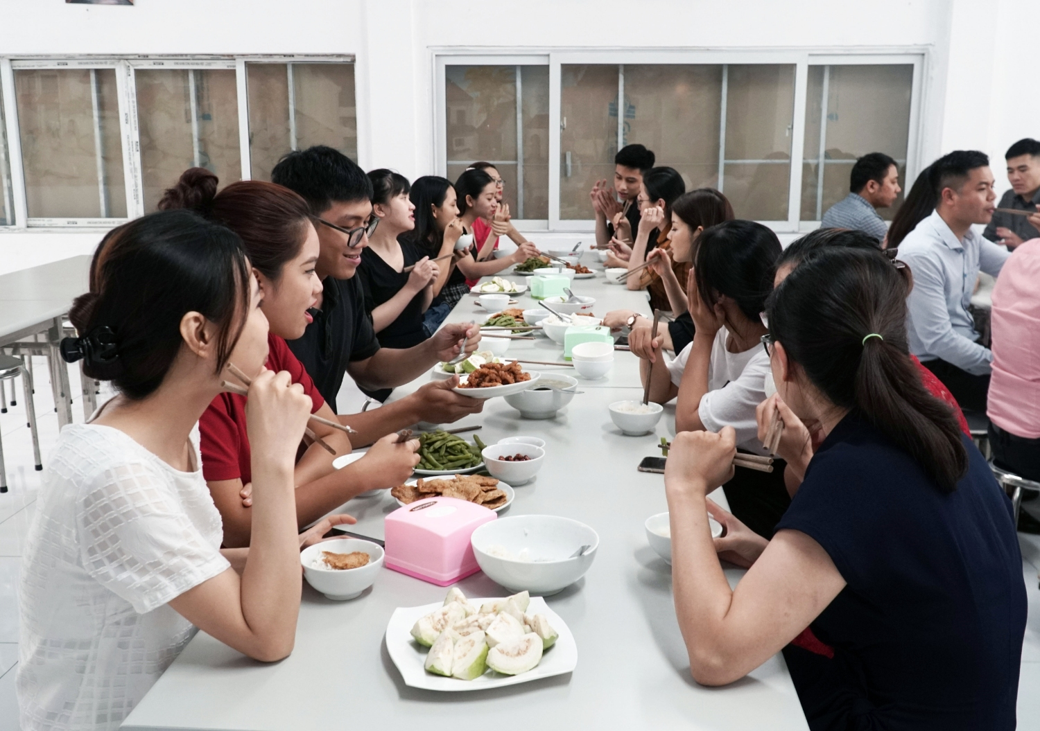 Kim Nam Group and cultural message from lunch