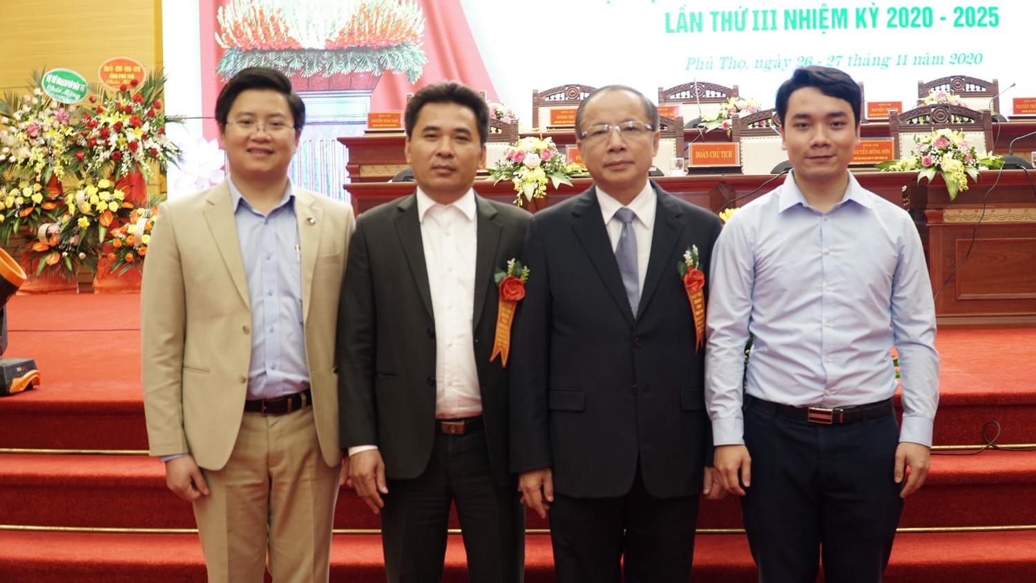 The Congress of the Association of Small and Medium Enterprises in Phu Tho province for the term of 2020 - 2025
